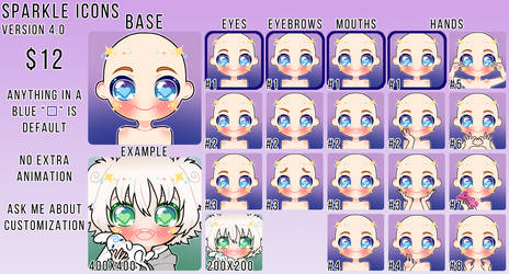 [SPARKLE ICONS] [VERSION 4.0] by Sheepily