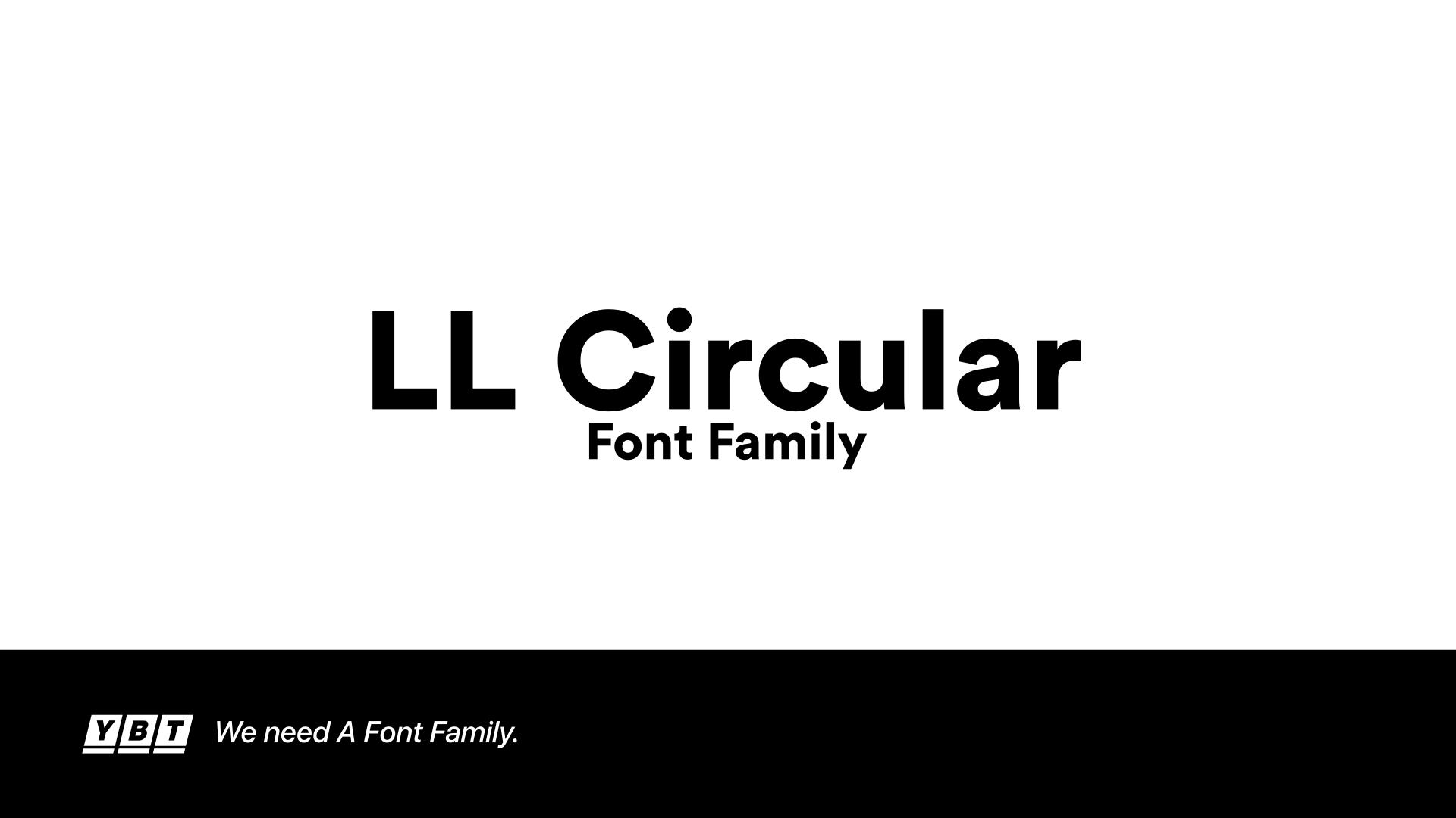 Circular-Std Font Family by YbtOffical on DeviantArt