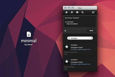 Itsy Theme - minimal