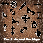 Rough Around the Edges cursors by usedHONDA