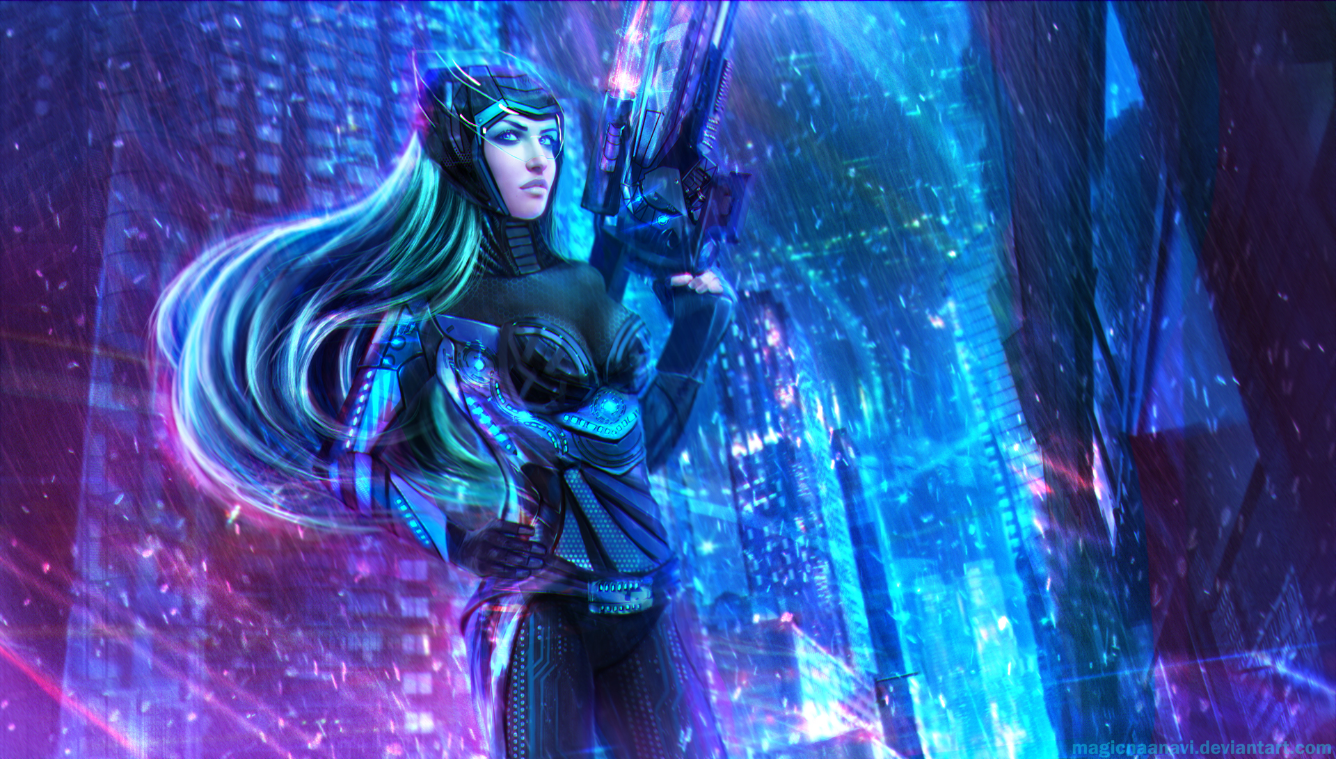 Nanotech Caitlyn - League of Legends by MagicnaAnavi
