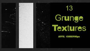 13 Grunge Textures