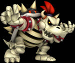 Smash 4 Dry Bowser Render (2018)