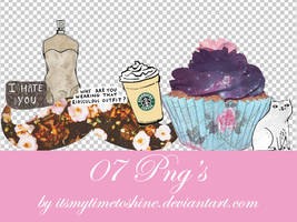 07 PNG's Pack by itsmytimetoshine