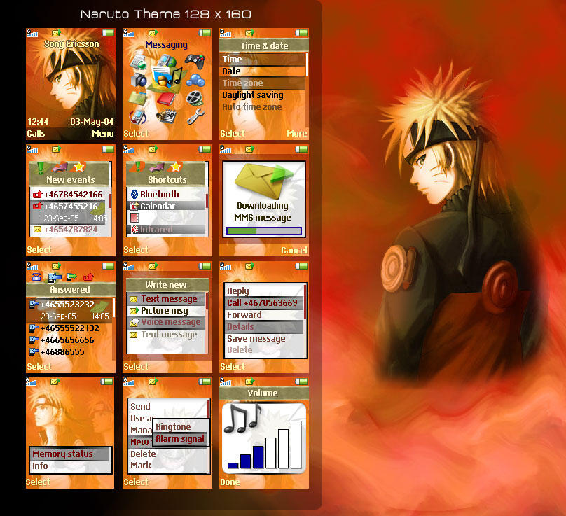 Naruto Shippuden Theme by daeron-art