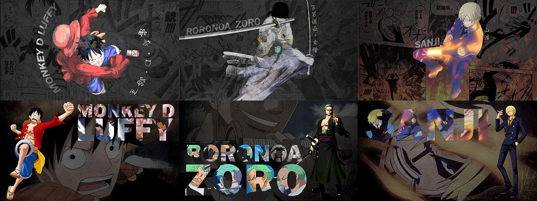 One Piece - Luffy, Zor...
