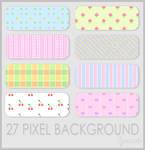 Pixel Background 2 by Ransie3