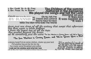 Bowie Lyrics 01 by Ransie3
