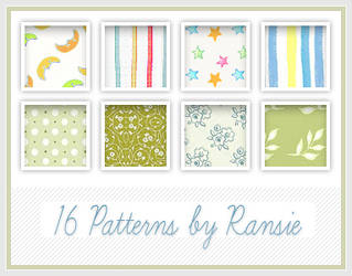 Patterns 20 by Ransie3