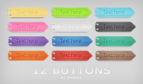Web Buttons 05 by Ransie3