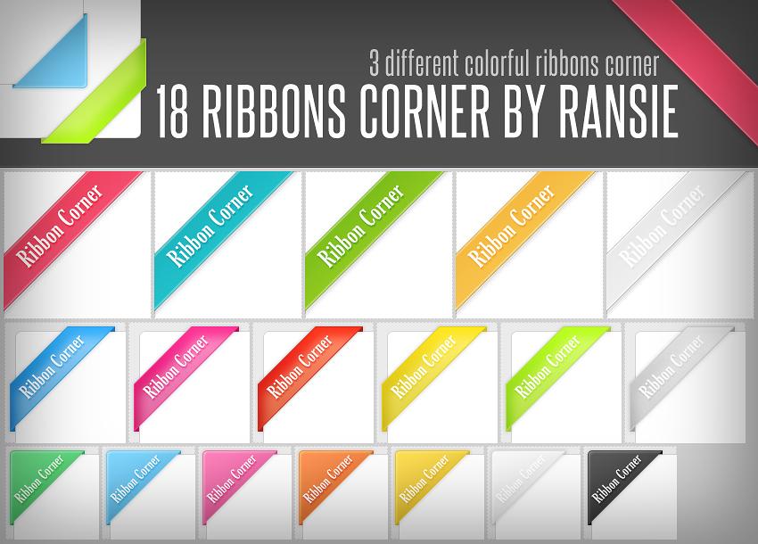 Ribbon Corners