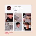 Instagram Template #2 | PSD - KOOKPASTEL