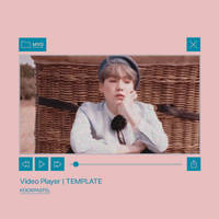 Video Player Template By Kookpastel by seokjingguk