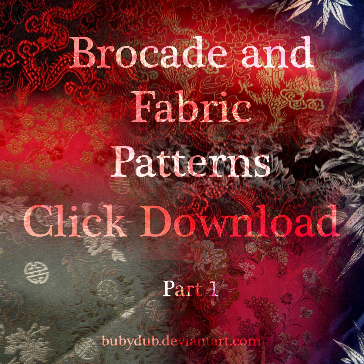 brocade stock 1 by Bubydub