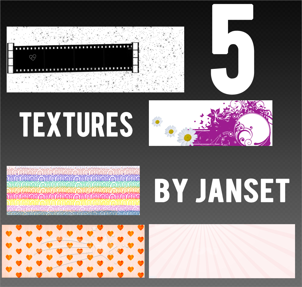 Texture Pack By Janset by carmenart-ca
