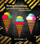 scrapbook Ice Cream