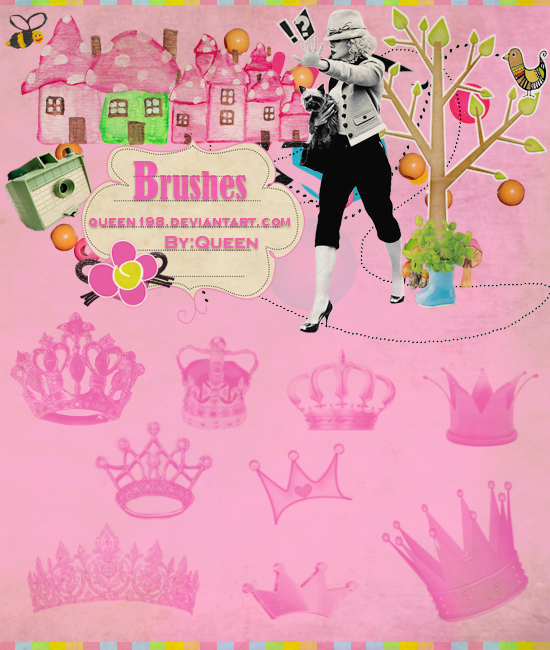 Brushes Crown by queen198