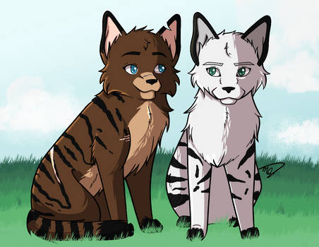 Tigerblaze and Stormclaw - Contest Entry
