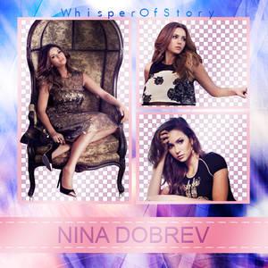 Nina Dobrev (for Alexa) png pack 1