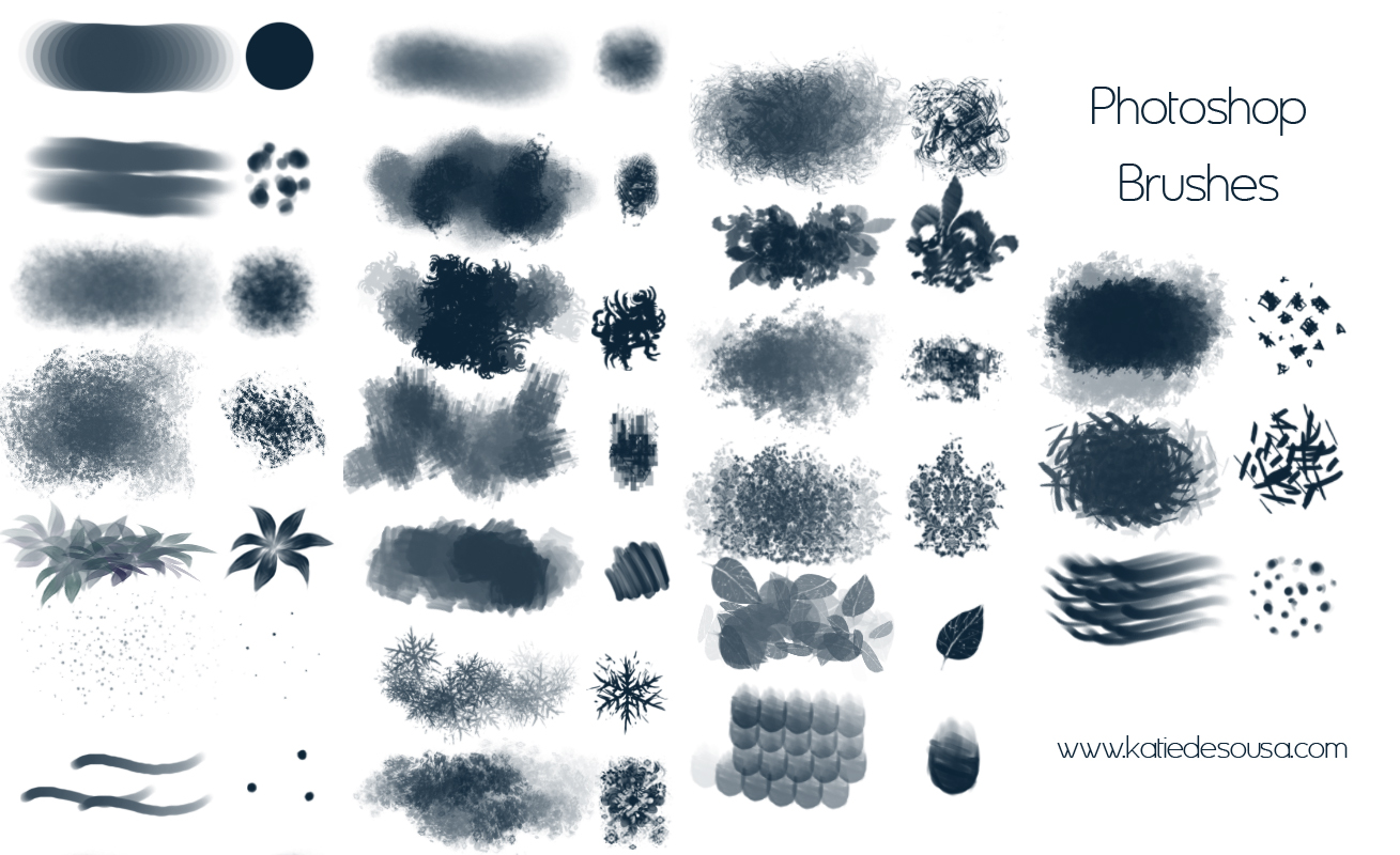 23 Brushes for Photoshop by katiedesousa on DeviantArt