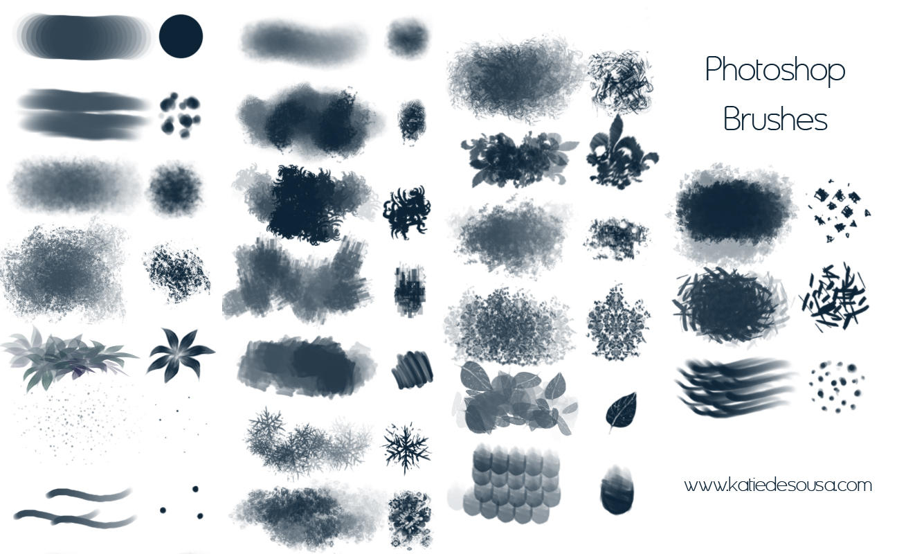 23 Brushes for Photoshop by yumedust