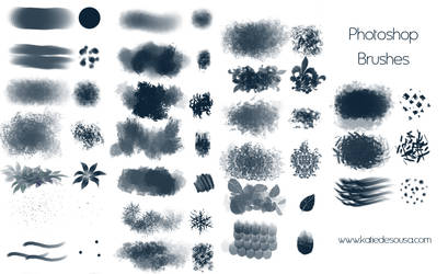 23 Brushes for Photoshop by katiedesousa