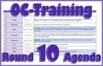 OC-Training Round 10 Agenda by Zakuro-Kona