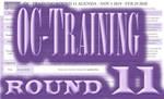 OC-Training Round 11 Agenda by Zakuro-Kona
