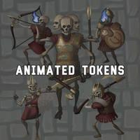 Animated Skeleton Tokens