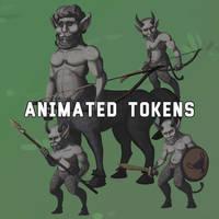 Animated Centaur and Satyres