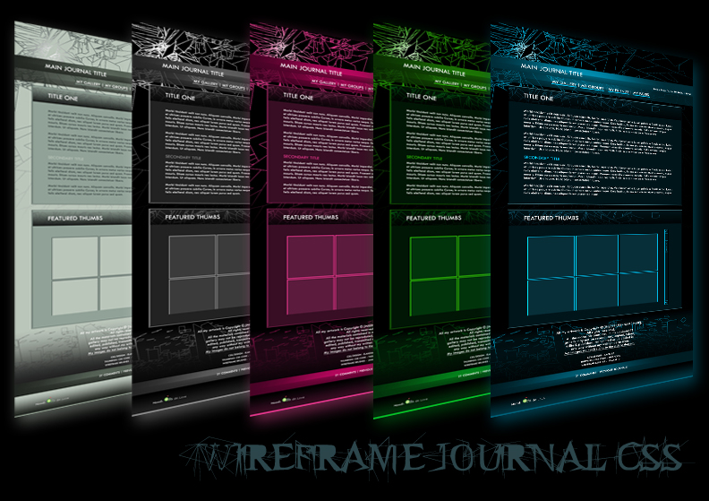 Wireframe Journal CSS FREE UPDATED 2014
