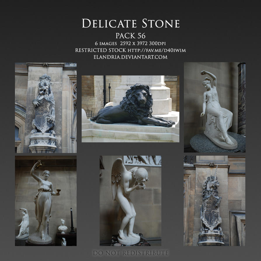 Delicate Stone Pack 56 by Elandria