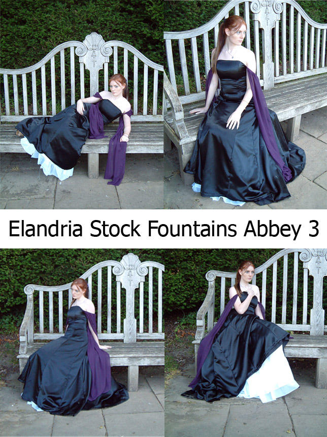 Fountains Abbey Stock Set 3 by Elandria