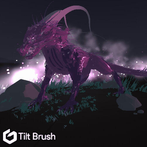 TiltBrush - Dragon