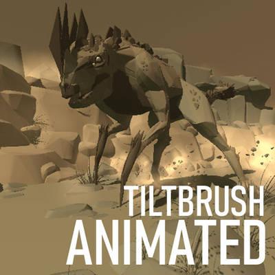 TiltBrush - Rocky Creature