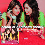 colourofarainbow action'