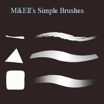 a couple of my fave brushes for photoshop
