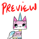 Animation: Unikitty by ProjectENDO