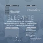 Elegante Notes (for Rainmeter)