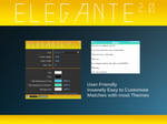 Elegante 2.0 By JosephB2000 (Rainmeter Skin)
