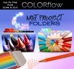ColorFlow Art Project Folders