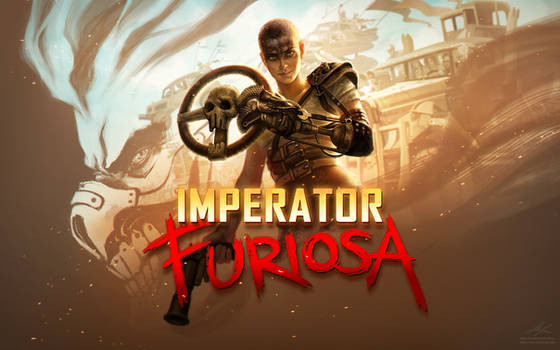 Mad Max - Imperator FURIOSA - Wallpaper