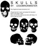 Skull Vector Package EPS