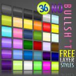 36 Free Photoshop Layer Styles