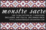 Monstre Sacre Patterns