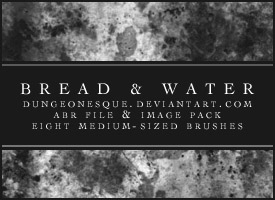 Bread and Water Brushes by dungeonesque