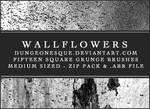 Wallflowers Grunge Brush Set