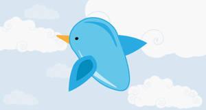 Twitter Bird Free Icon