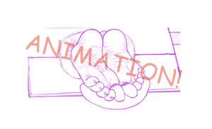 [Sketch] Feet Animation! :D