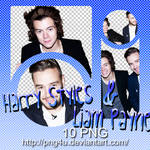 Harry Styles y Liam Payne 1D PACK PNG